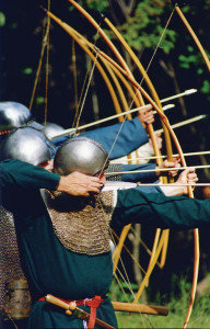 Archers-in-line