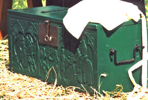green-carved-chest